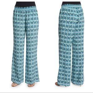 JOIE Isabeli Silk Pants in Blue Haze